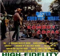 Cowboy Copas - Mister Country Music  (SLP 175)